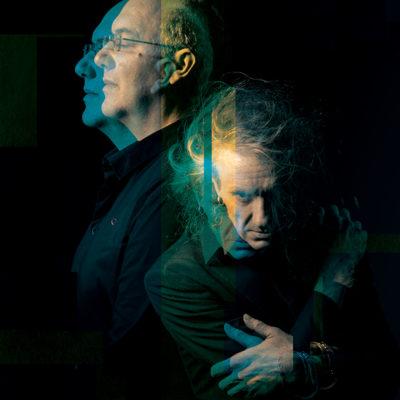 Photo presseEntrer dans la couleur - Alain Damasio et Yan Péchin (c) Benjamin Béchetweb